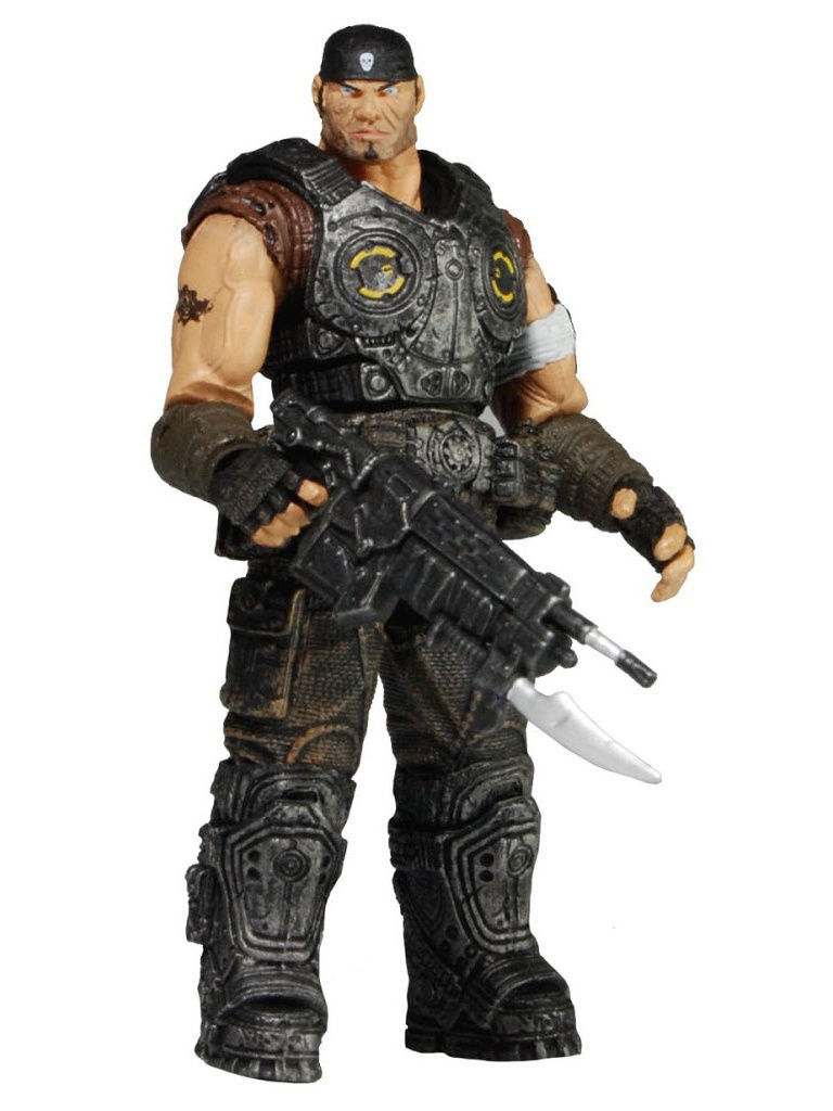 Фигурки-игрушки Neca Фигурка Gears of War 3 3/4 Series 2 - Marcus Fenix /4шт war of gl aftermath