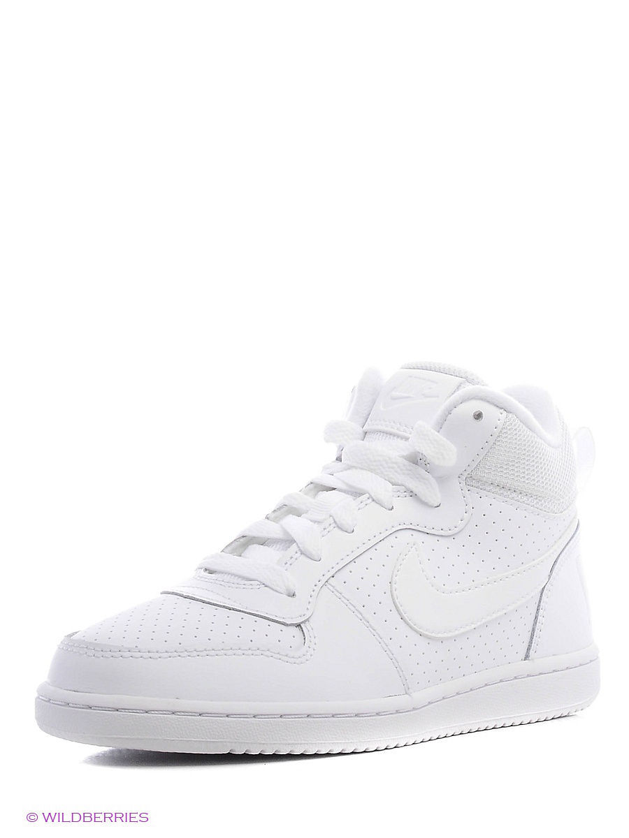 Кеды NIKE COURT BOROUGH MID (PS) 839978-100