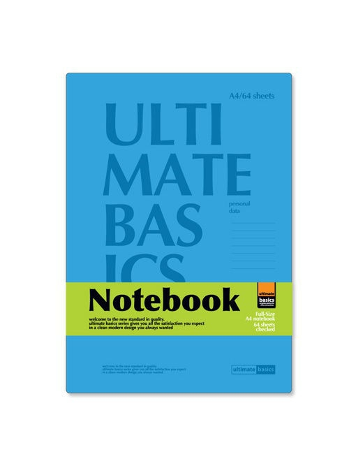 Блокноты Альт Офис-блокнот а4, 64 л.  ultimate basics, сambridge, голубой ultimate basics