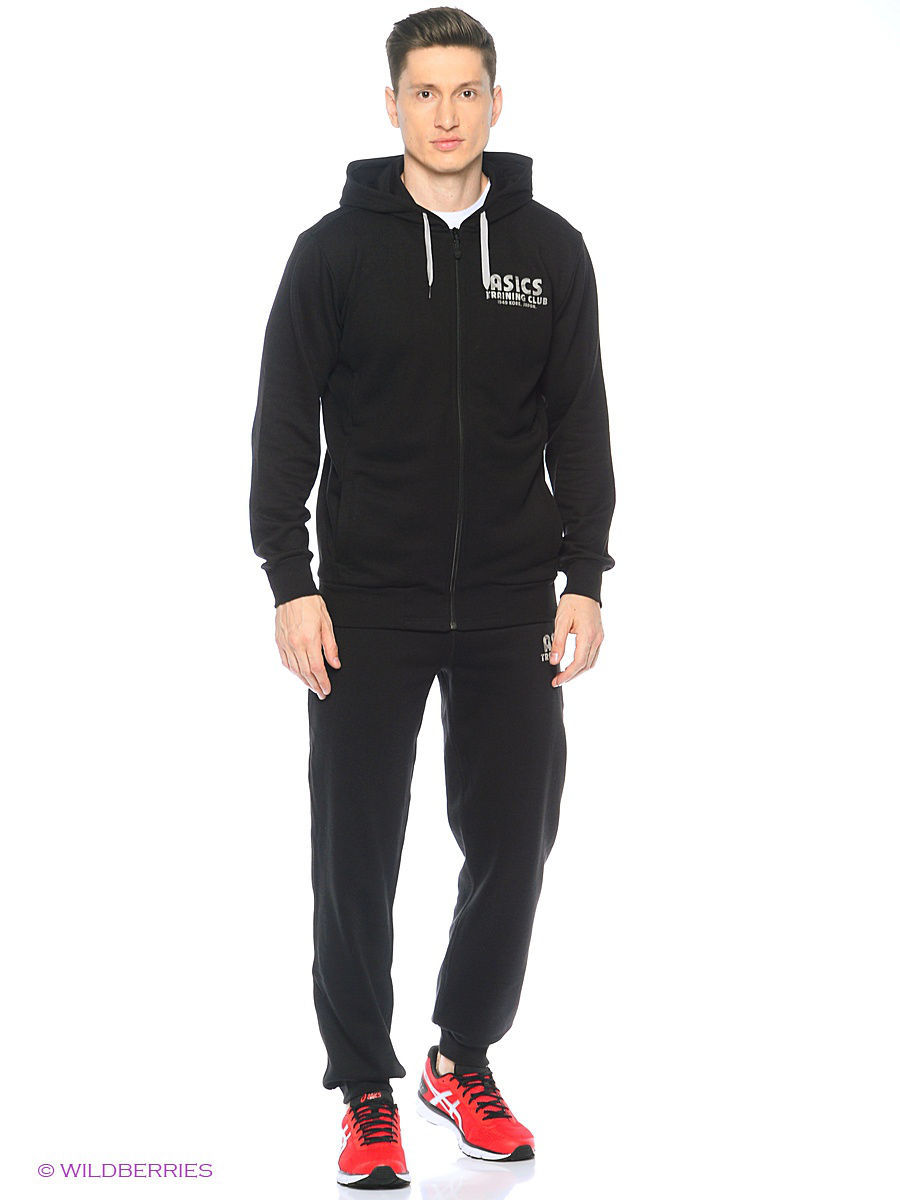 Толстовки ASICS Толстовка TRAINING CLUB FZ HOODIE asics as455emulx11 asics