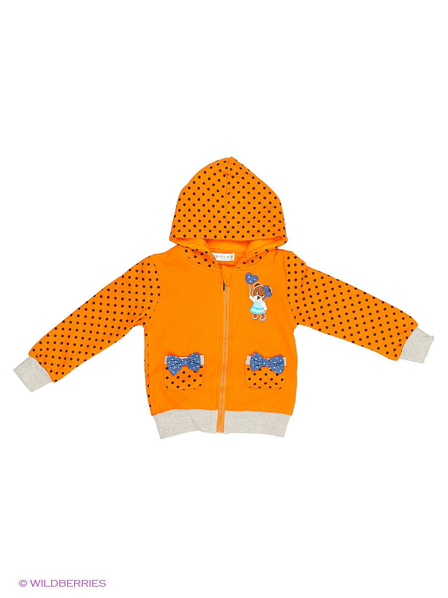 Толстовка Sago Kids i Ant Domain K7199Т/оранж