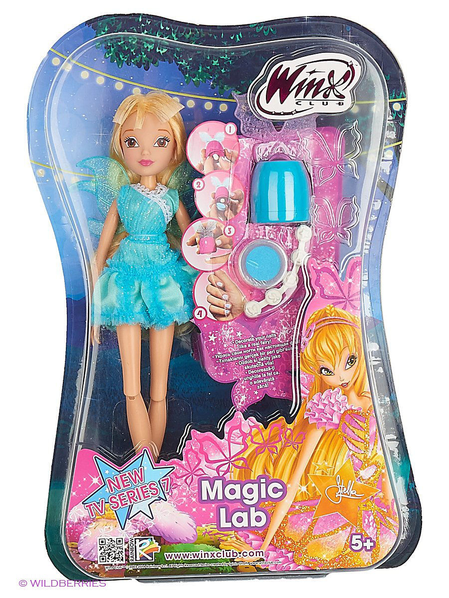 WINX Кукла Winx Club Магическая лаборатория Stella free shipping xc3020 50pc84i new original and goods in stock