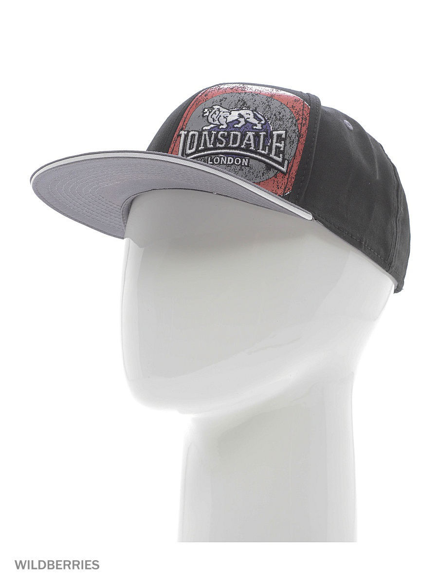 Бейсболка Lonsdale 114893/BLACK/GREY