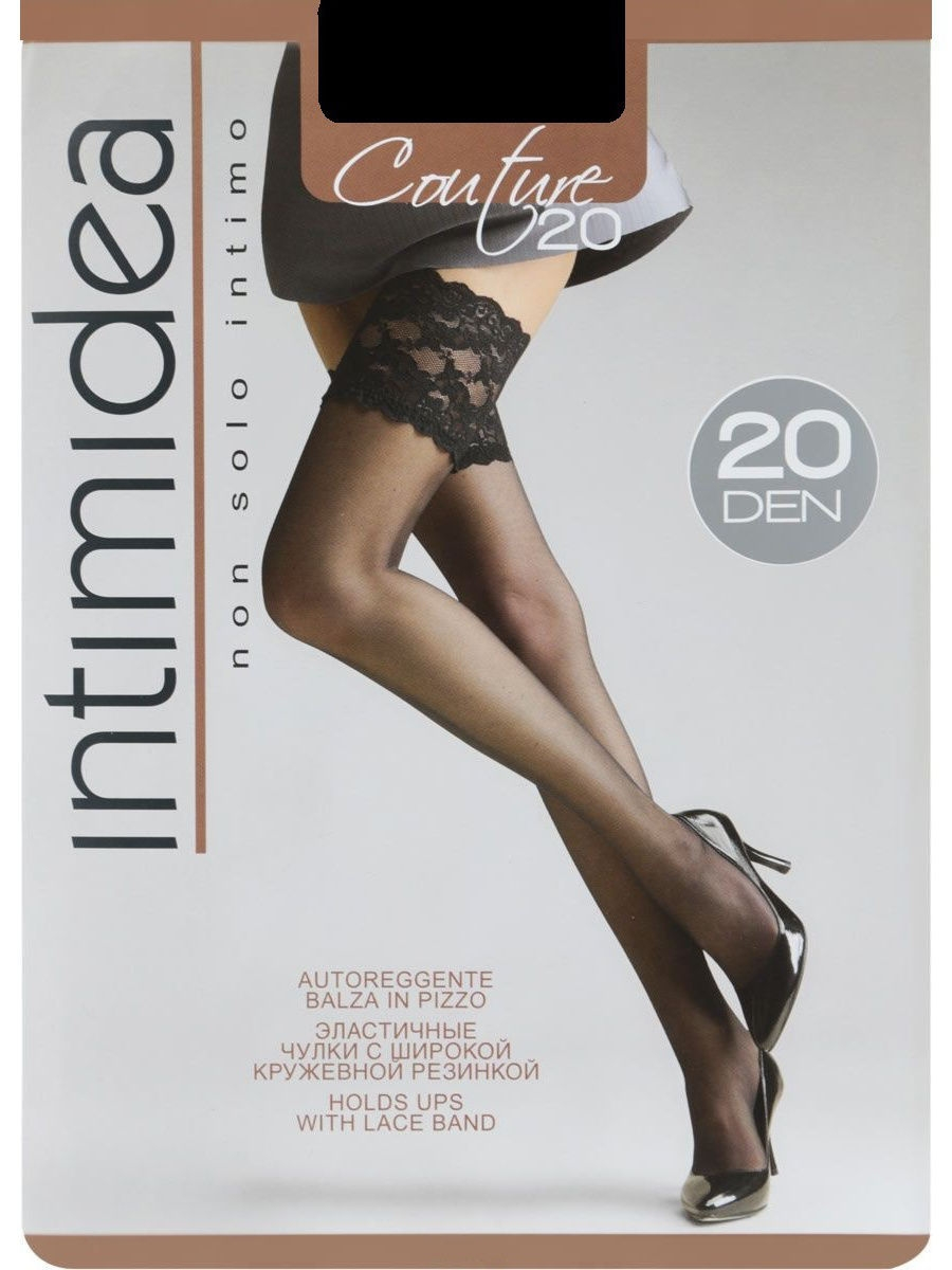 Чулки Intimidea IN-Couture20AUT/nero