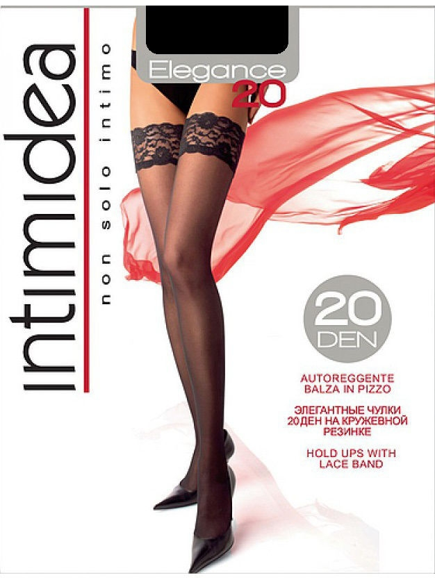 Чулки Intimidea IN-Elegance20AUT/nero