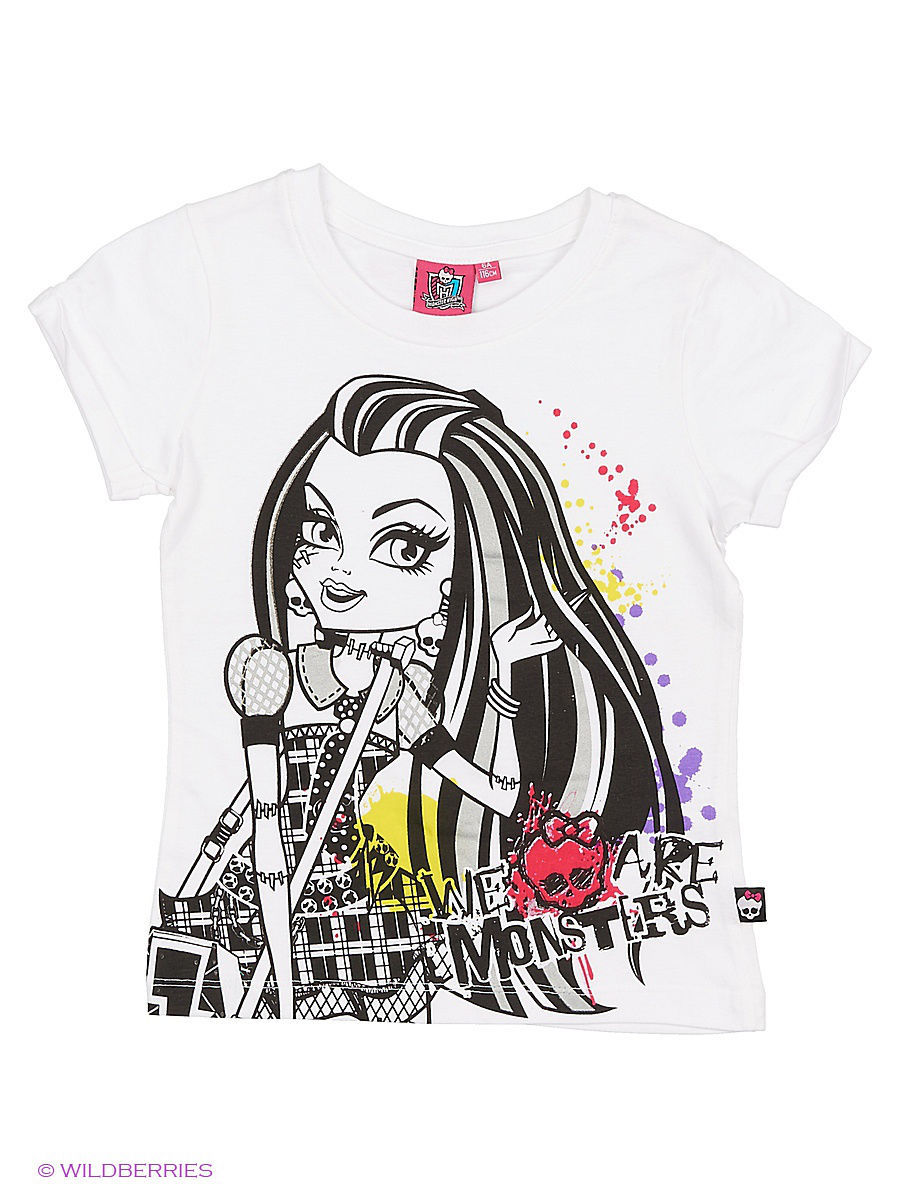 Футболка Monster High MOH-1384/White