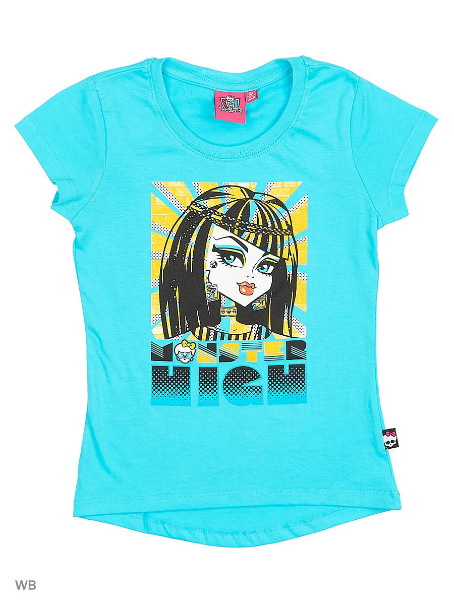 Футболка Monster High MOH-1399a/Bluecuracao