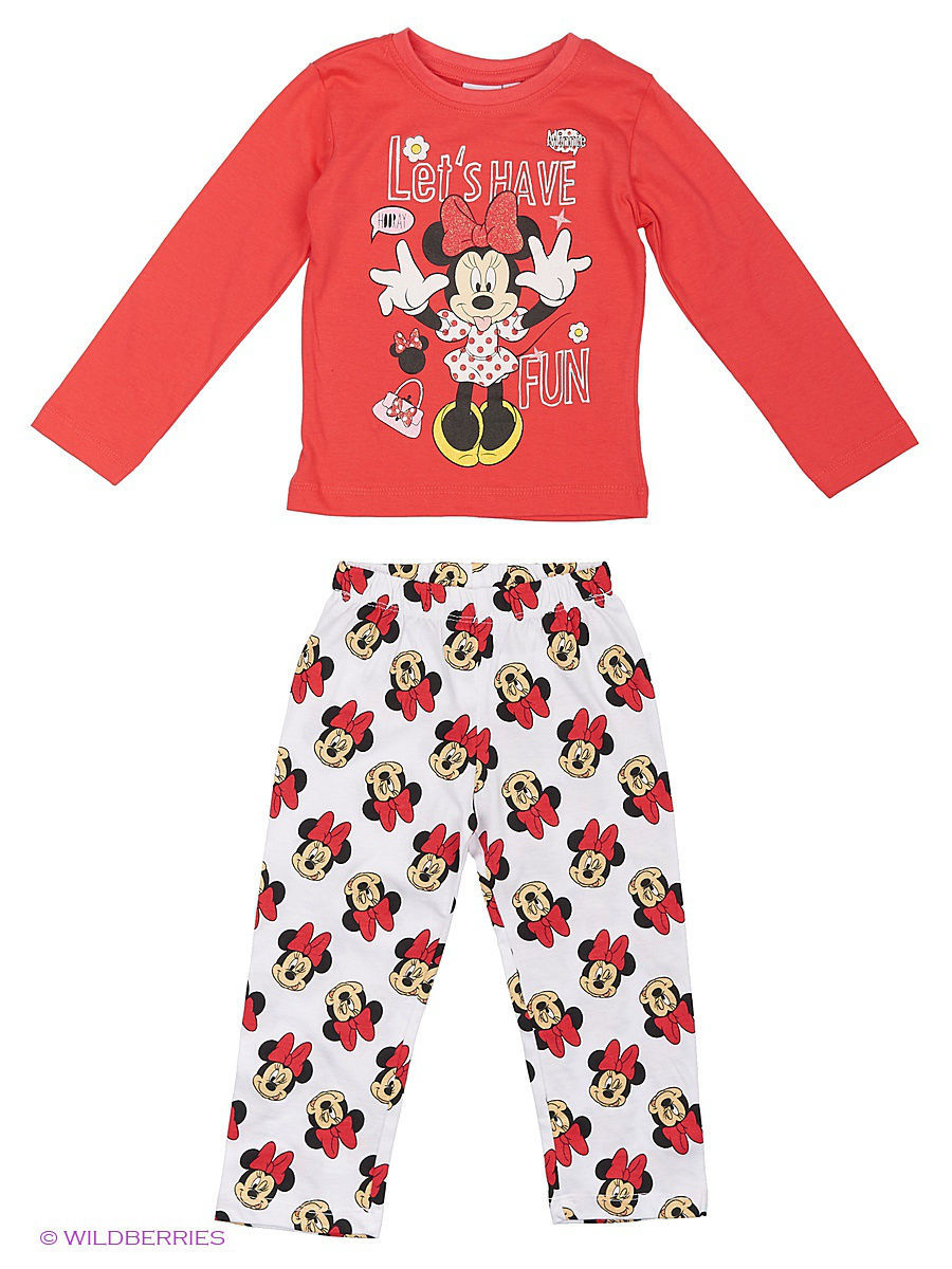 Белье и одежда для дома Minnie Mouse DIS-9278/Paradisepink/White