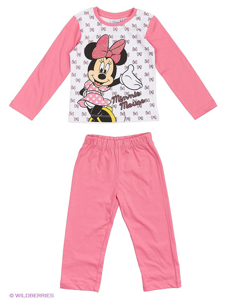 Белье и одежда для дома Minnie Mouse DIS-9287/White/Pink