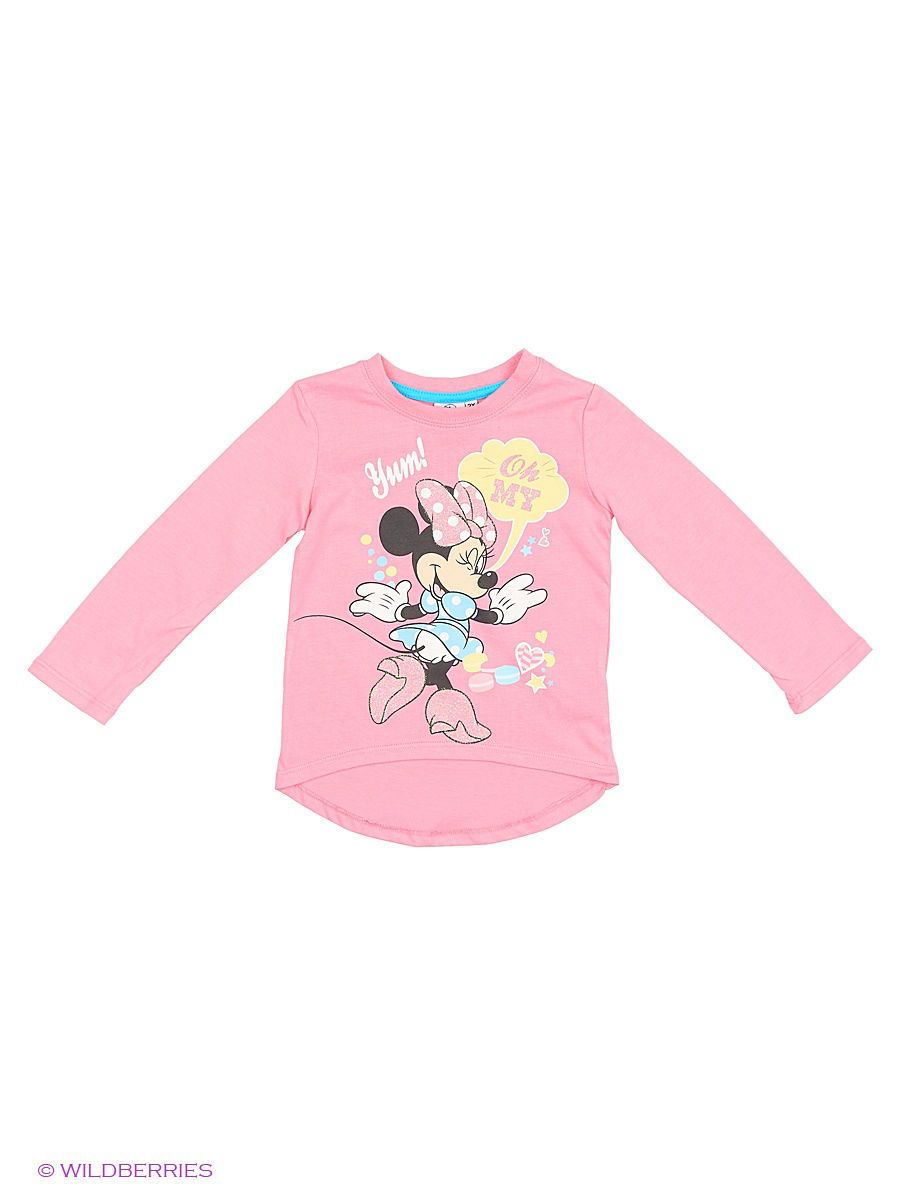 Водолазка Minnie Mouse DIS-9675/PINK/BLUE