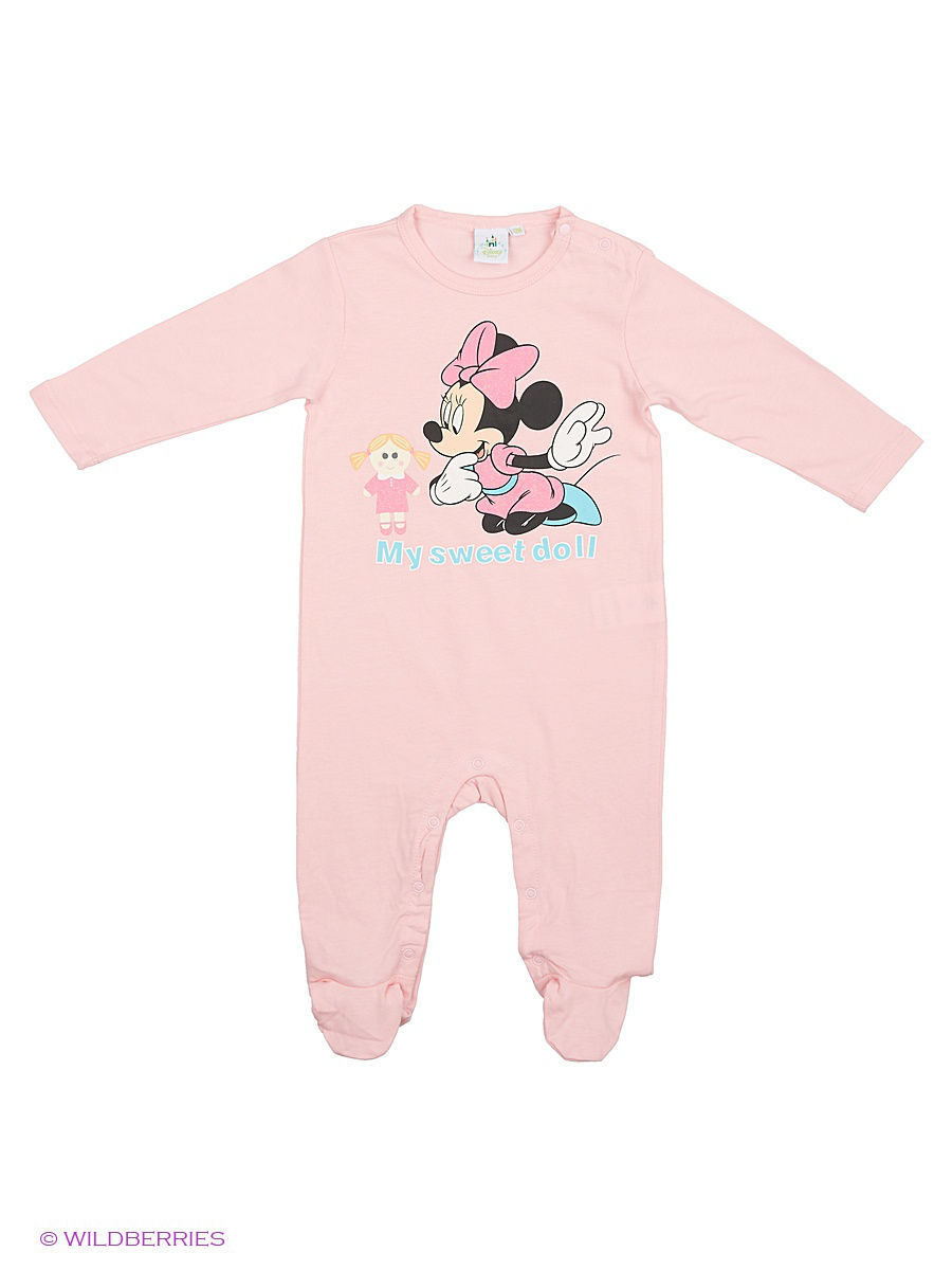 Комбинезон Minnie Mouse MIN-1262/orchidpink/pink
