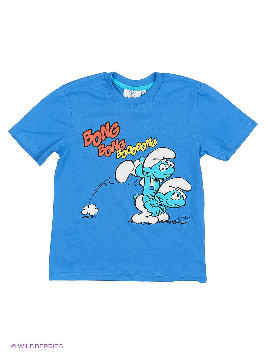 Футболка The Smurfs SMR-2322/palaceblue