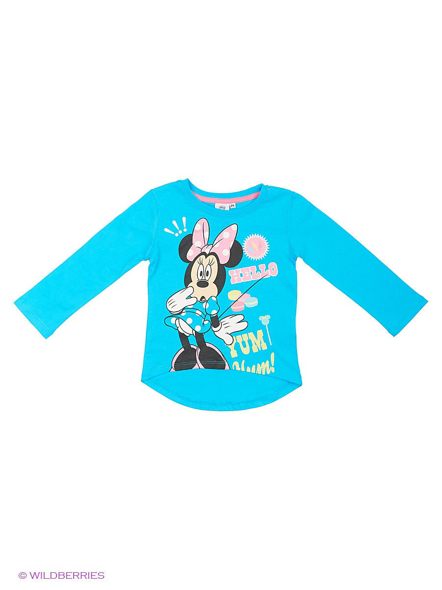 Водолазка Minnie Mouse DIS-9673/RIVERBLUE/SACHETPINK