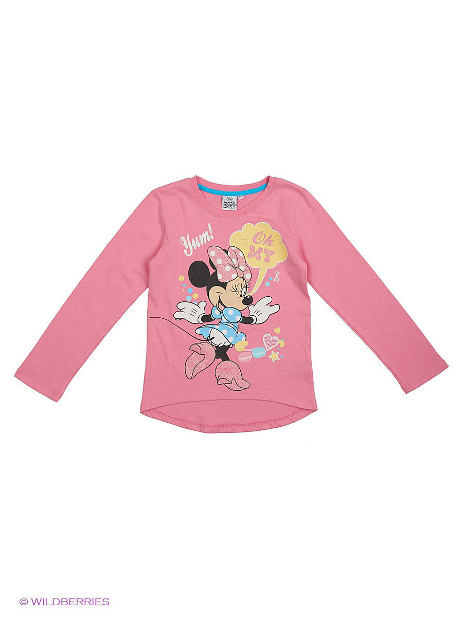 Водолазка Minnie Mouse DIS-9677/PINK/BLUE