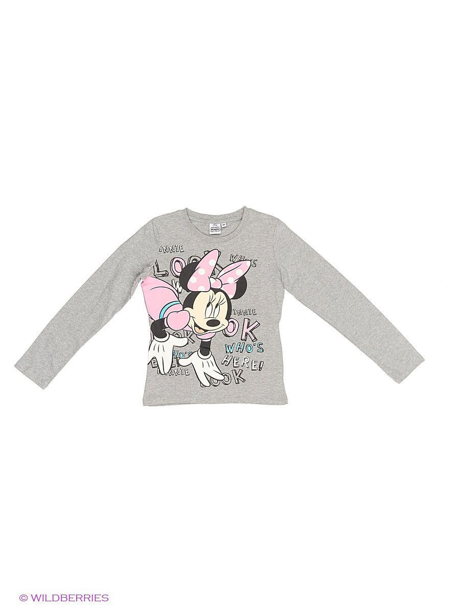 Водолазка Minnie Mouse DIS-9679/graymelange