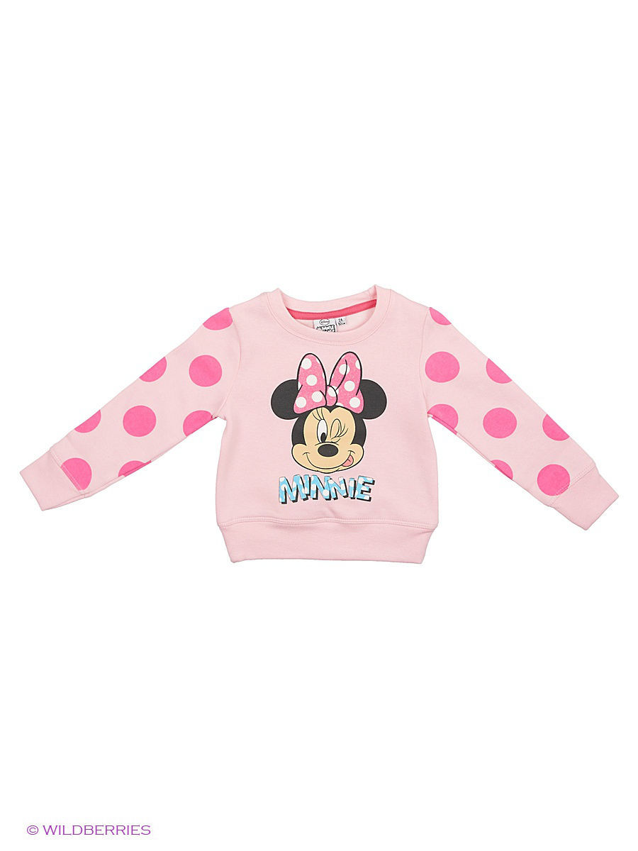 Толстовка Minnie Mouse MIN-010/pink