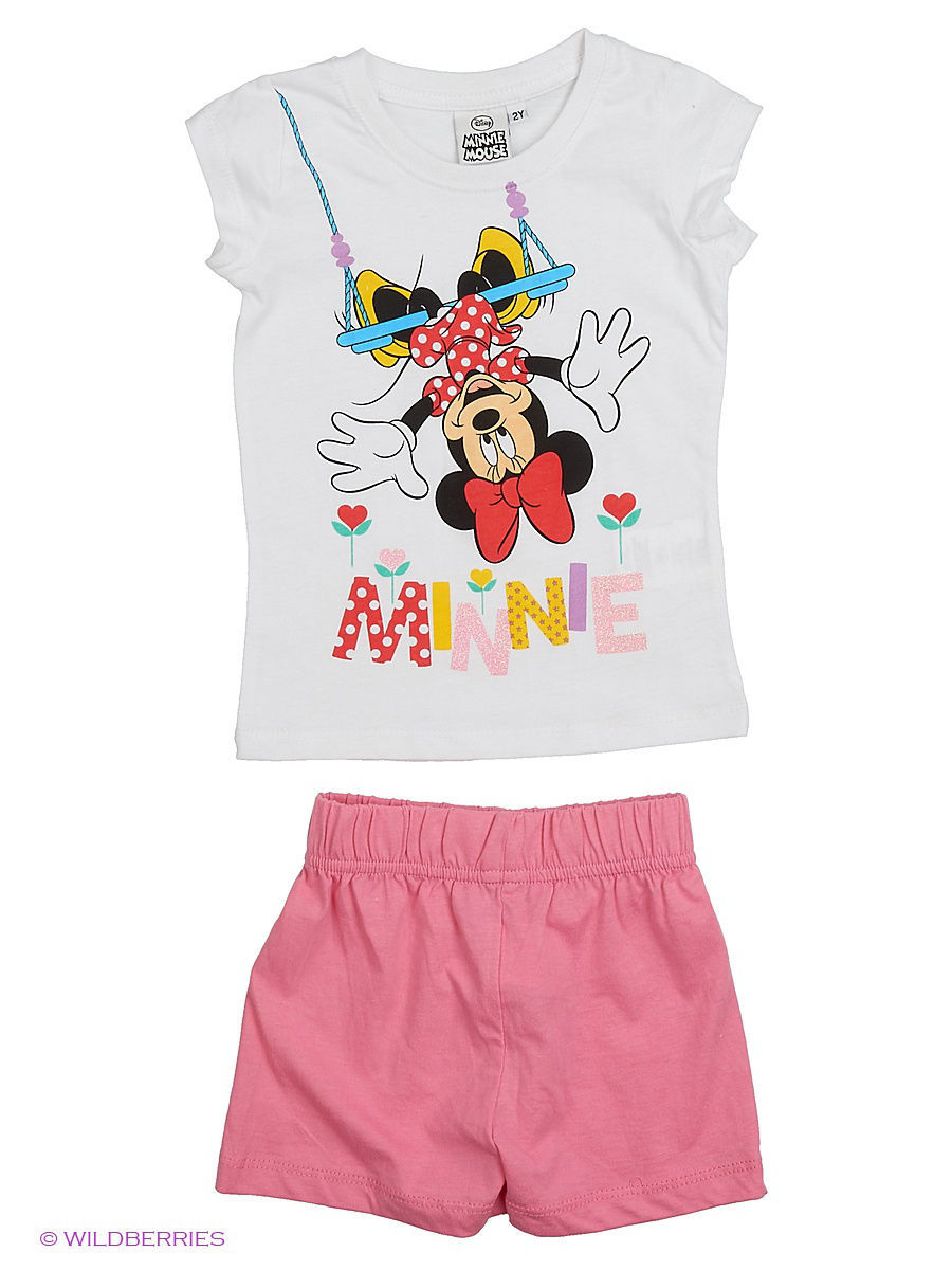 Белье и одежда для дома Minnie Mouse MIN-445/White/Pink