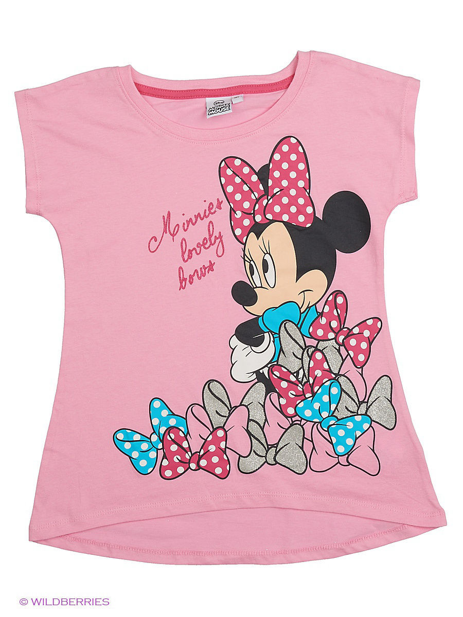 Футболка Minnie Mouse MIN-463/pink