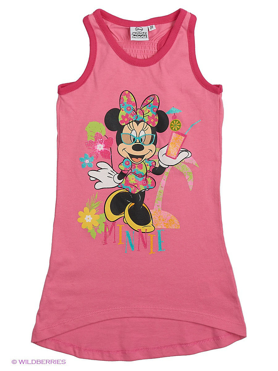 Платье Minnie Mouse MIN-630/pink/purple