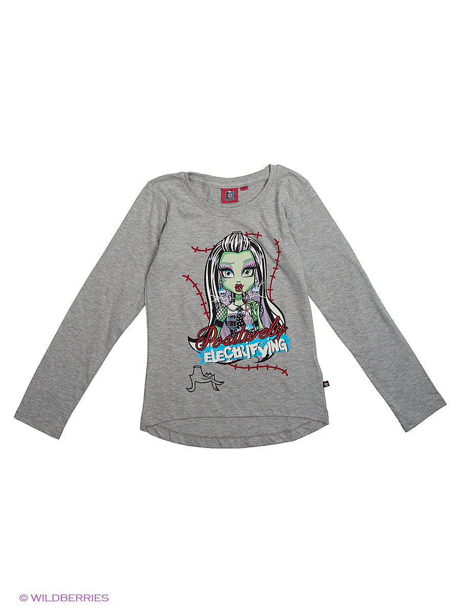 Лонгсливы Monster High MOH-761/Lt.greymelange
