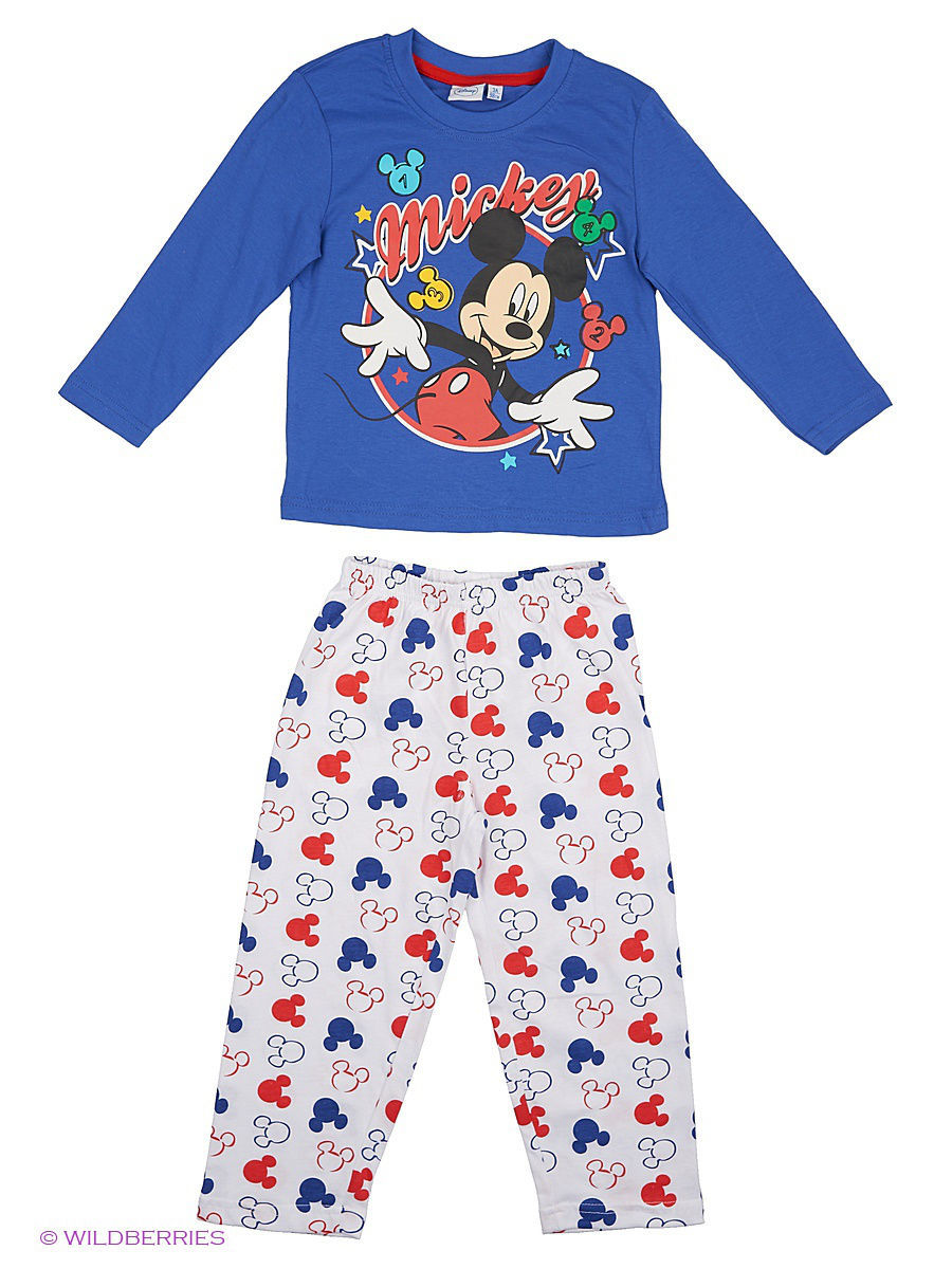 Белье и одежда для дома Mickey Mouse DIS-9315/blue/White/Lollipop