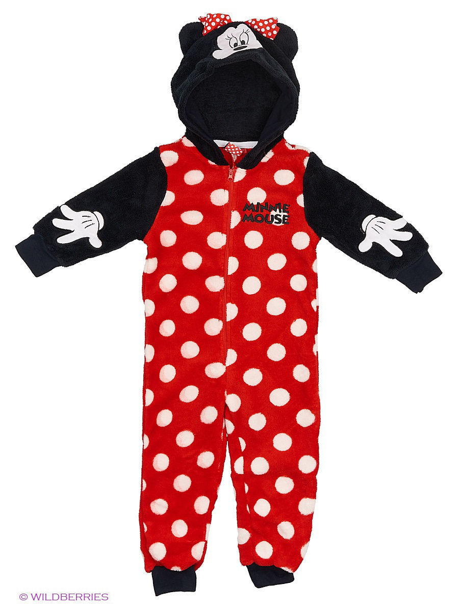 Комбинезон Mickey Mouse MIN-1277/black/white