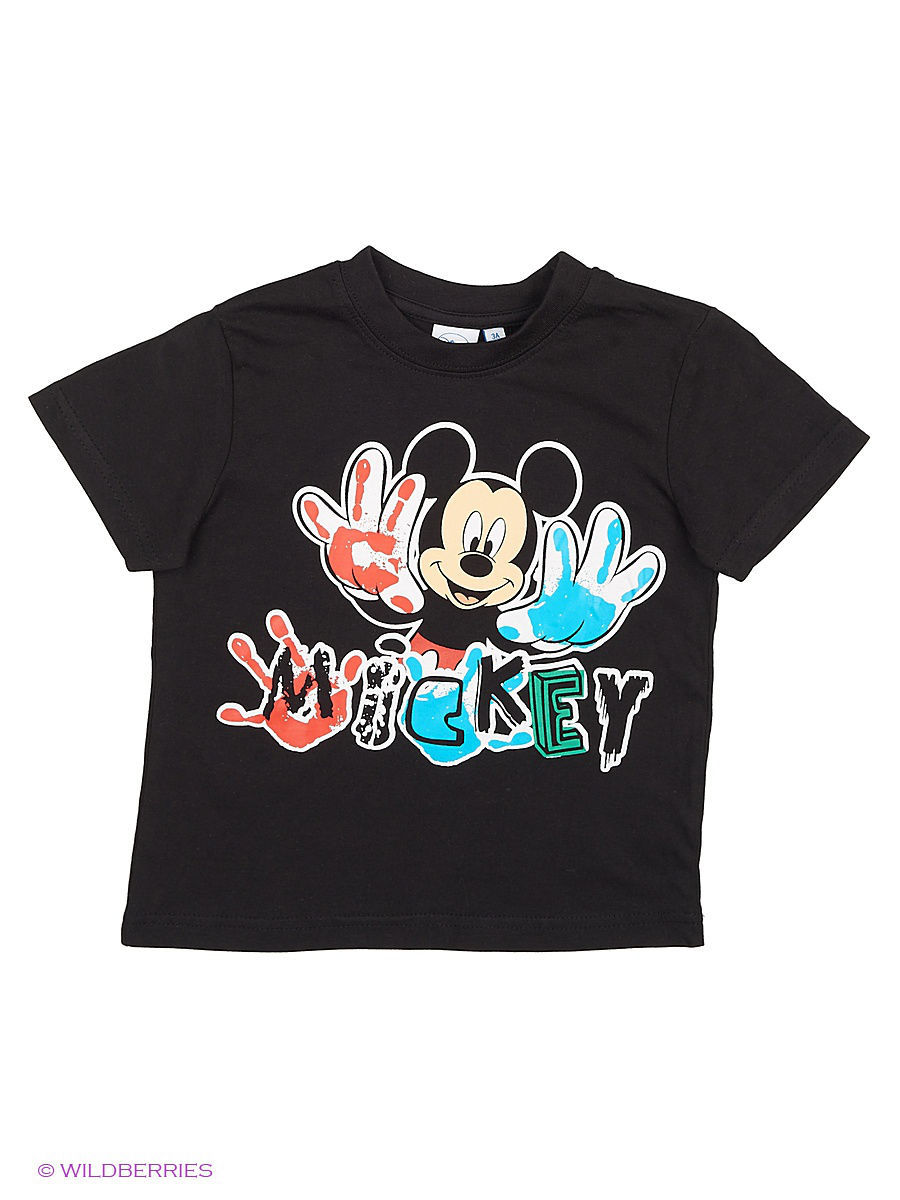 Футболка Disney DIS-8312/Black