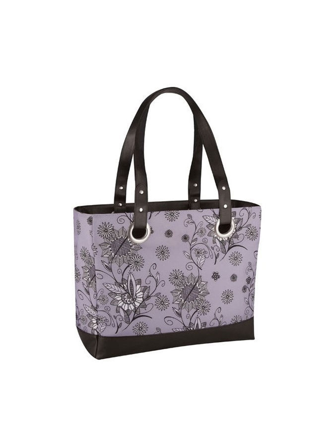 Сумка-термос Raya 24 Can  Tote-Purple Flower