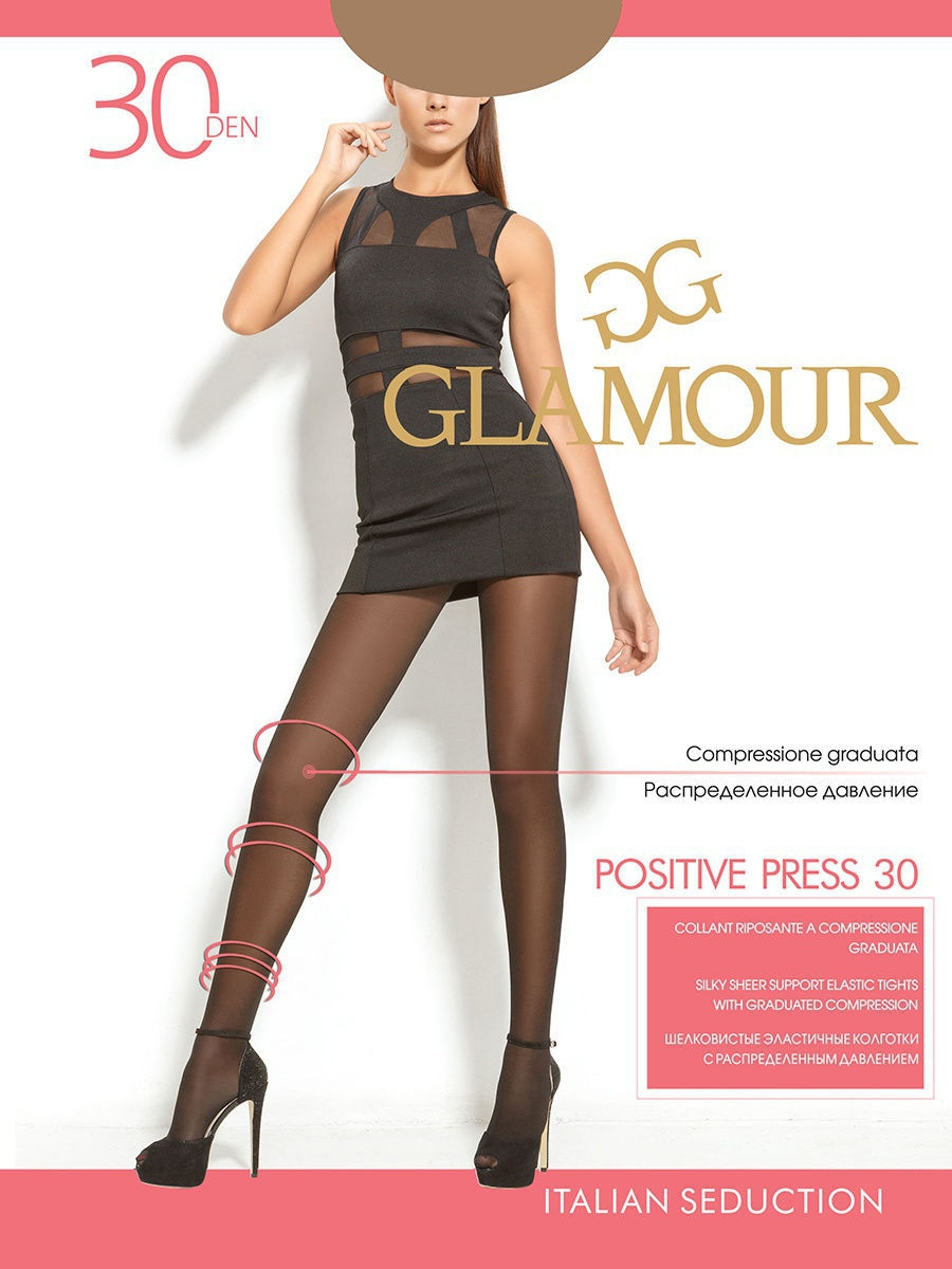 Колготки Positive press 30 Glamour 974918/DIANO