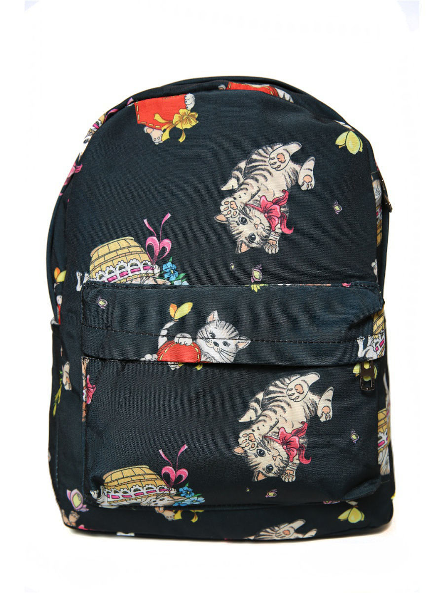 Рюкзак Mitya Veselkov BACKPACK-KITTY-BLACK