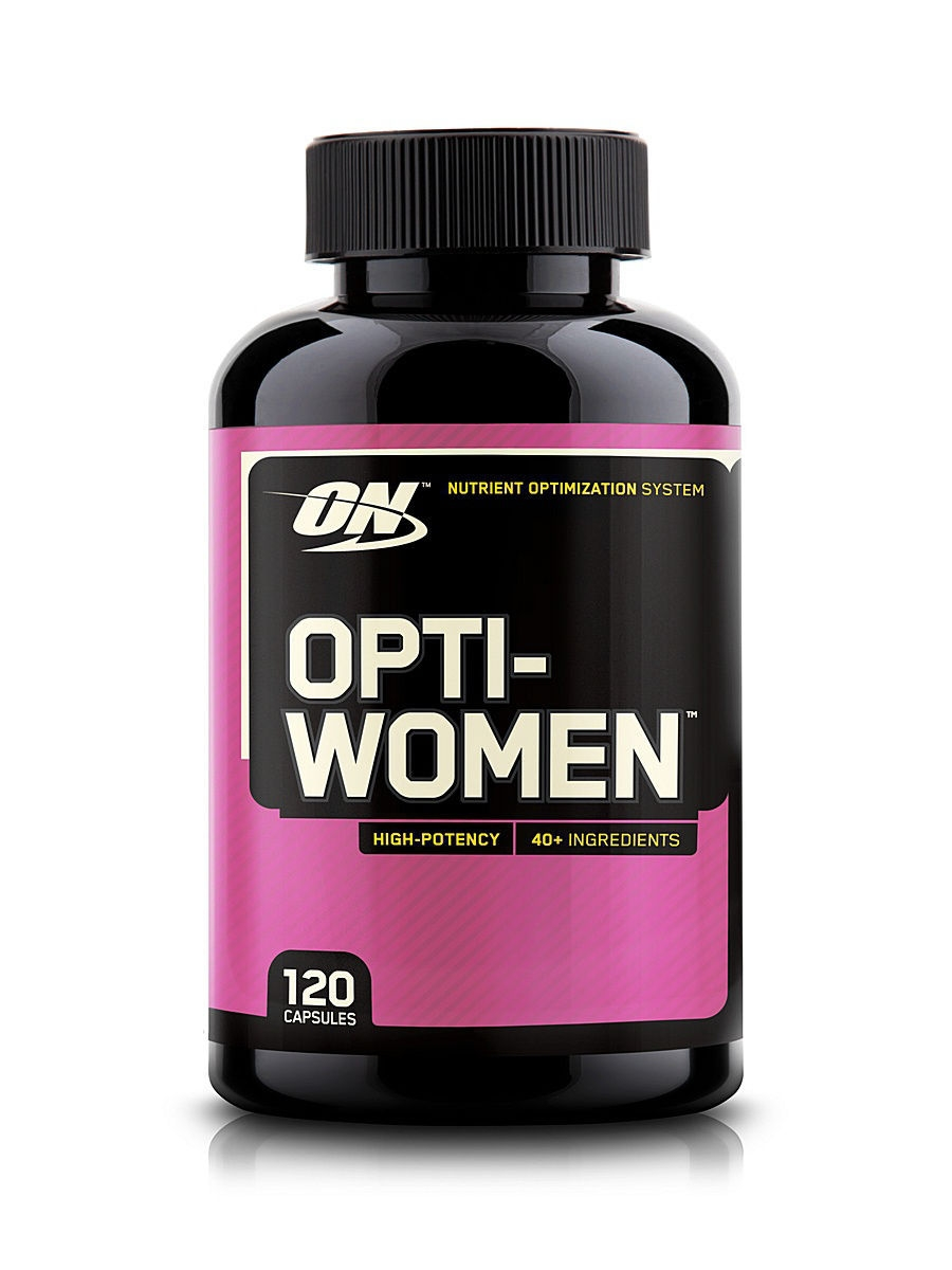 Витамины Optimum Nutrition Opti women (120c) 748927024524