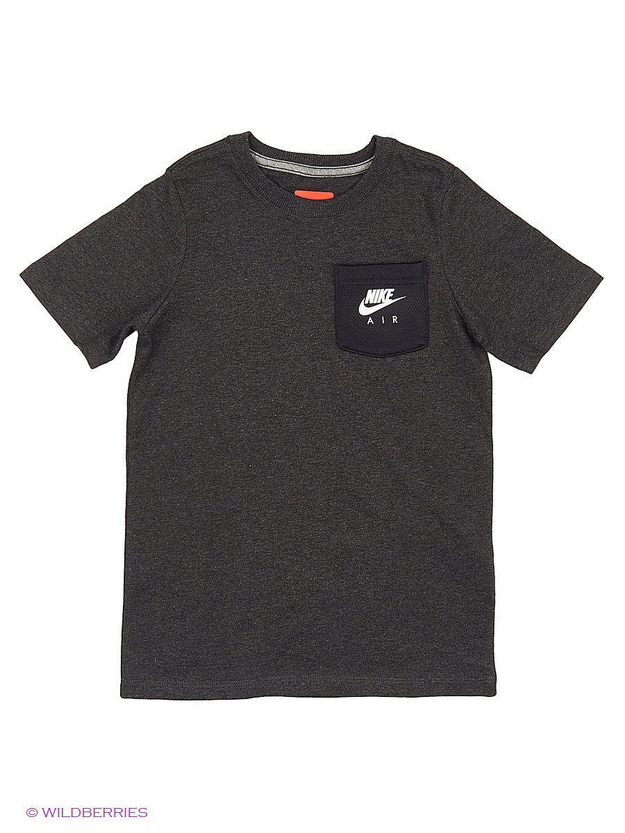 Футболка Nike Футболка B NSW TOP SS NIKE AIR HYBRID футболка nike футболка b nsw tee ss air world