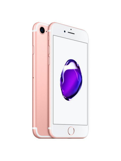 Смартфоны Apple Смартфон iPhone 7 32GB Rose Gold смартфон meizu u20 32 gb rose gold white