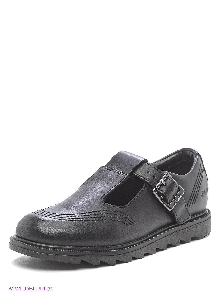 Туфли Clarks 26118901/blackleather