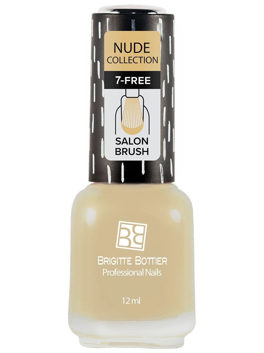 Лаки для ногтей Brigitte Bottier Лак для ногтей Nude Collection, тон 187 лаки для ногтей brigitte bottier лак desert десерт тон 526