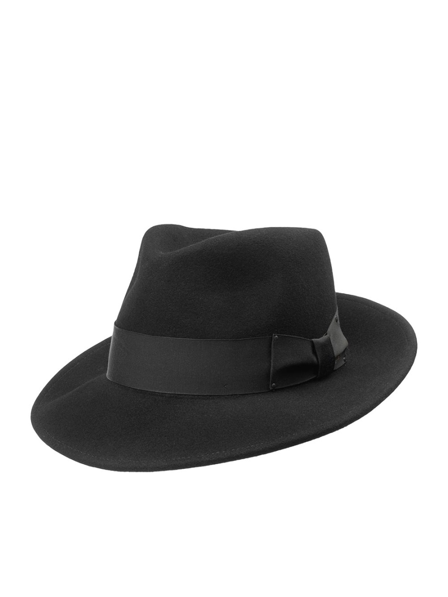 Шляпа Bailey 7002FEDORA.black