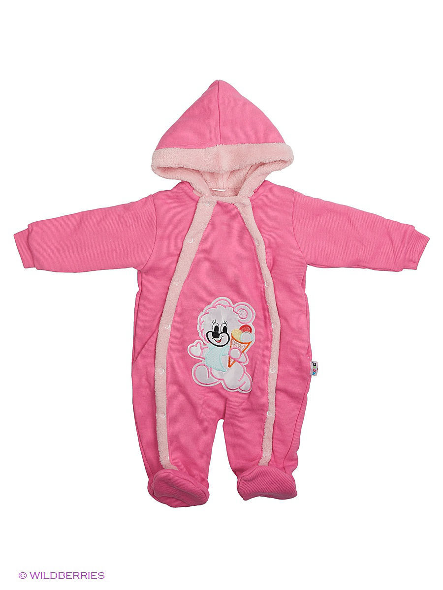 Комбинезон Babycollection 2Baby483/1/розовый