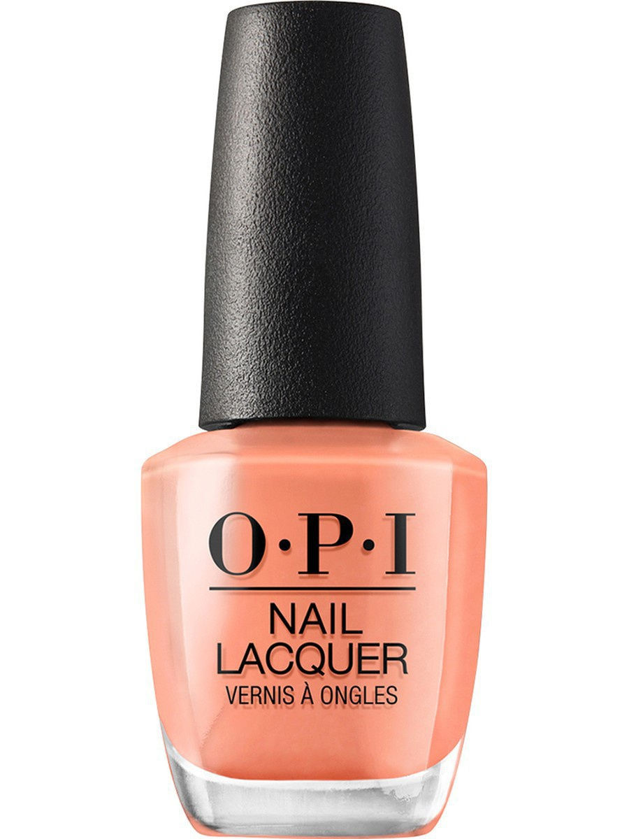 цена на Лаки для ногтей OPI Opi Лак для ногтей  Freedom Of Peach, 15 мл