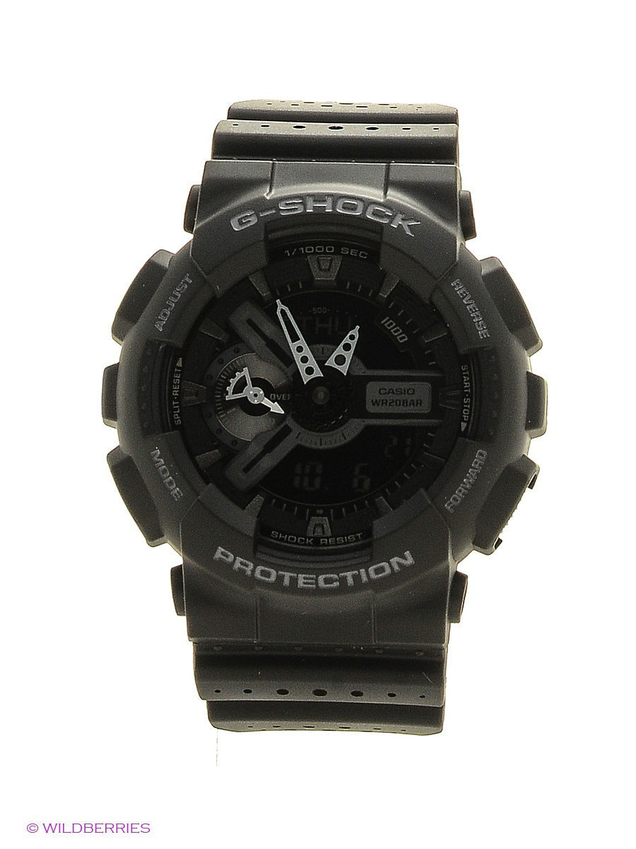 Часы наручные CASIO Часы G-Shock GA-110LP-1A часы casio g shock ga 110mb 1a black