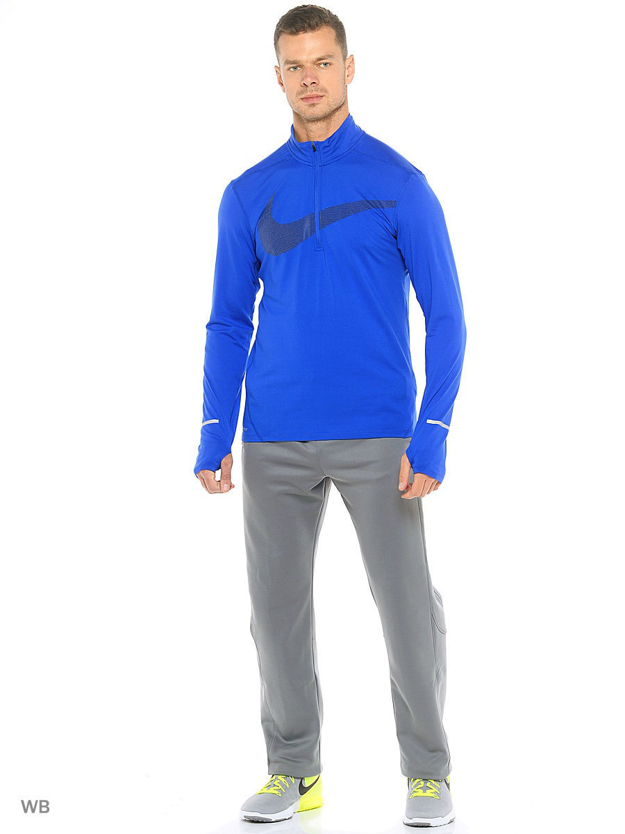 Джемперы Nike Джемпер M NK DRY ELMNT TOP HZ GX лонгслив nike лонгслив m nk dry elmnt top hz