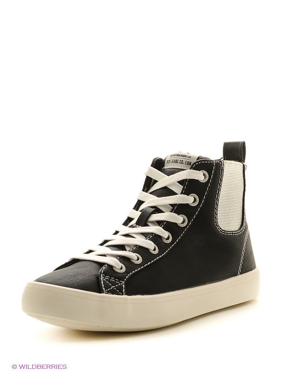 Женские кеды Pepe Jeans London PLS30361/999black