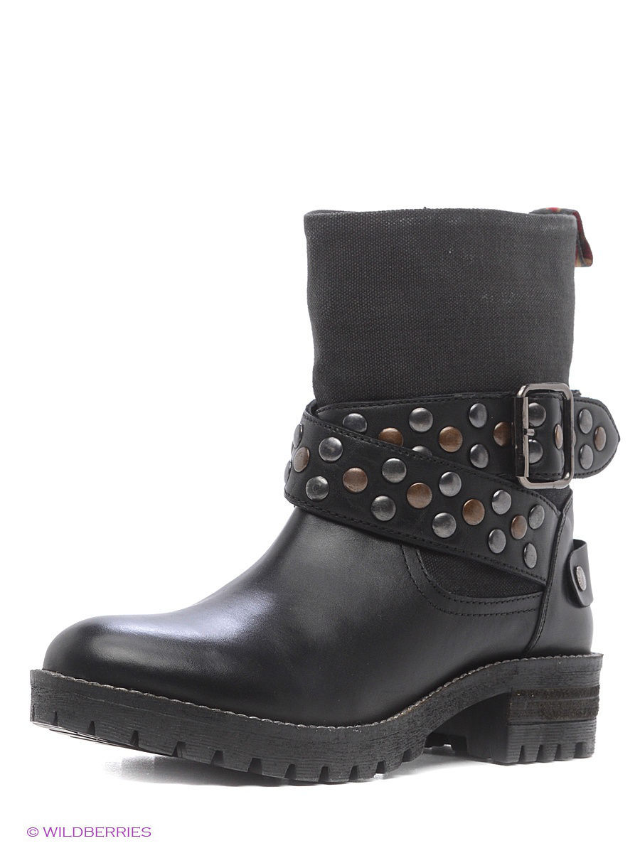 Женские сапоги Pepe Jeans London PLS50239/999black