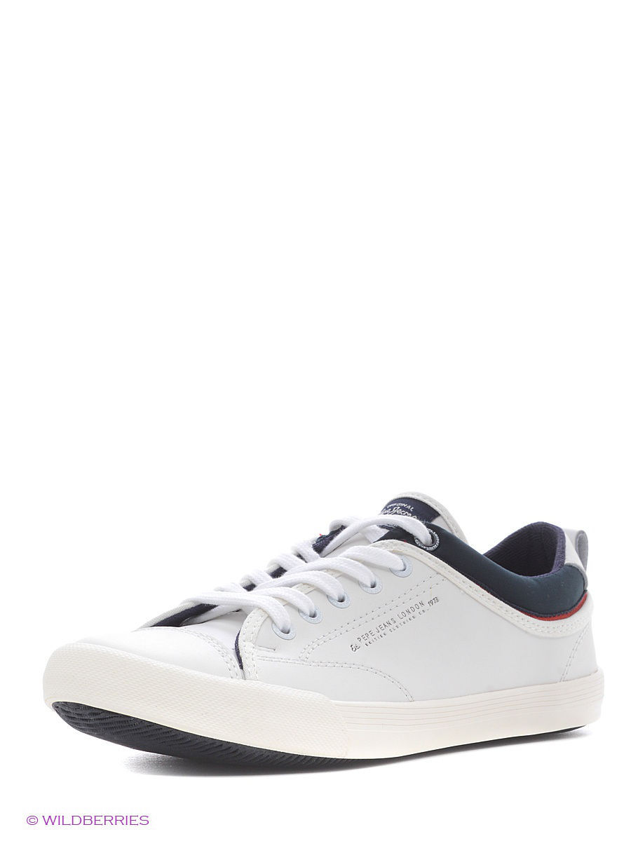 Мужские кеды Pepe Jeans London PMS30302/800white