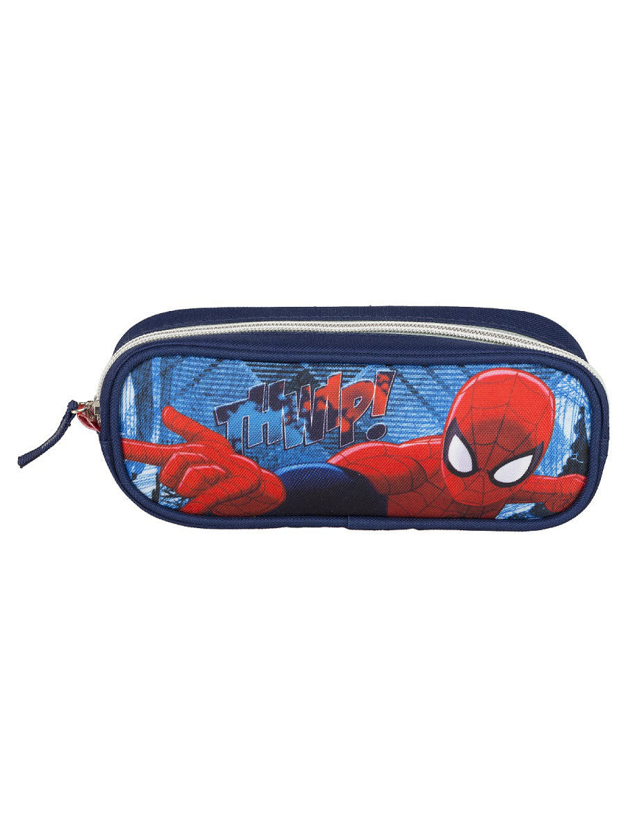 Пеналы Spider-man Classic Пенал объемной формы, на молнии.Spider-man Classic outdoor swimming beach drifting waterproof bag blue 1 5l