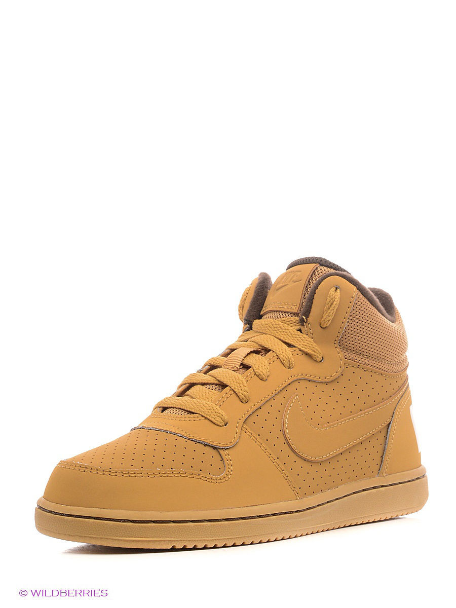 Кеды Nike Кеды NIKE COURT BOROUGH MID (PS) nike court borough mid nike