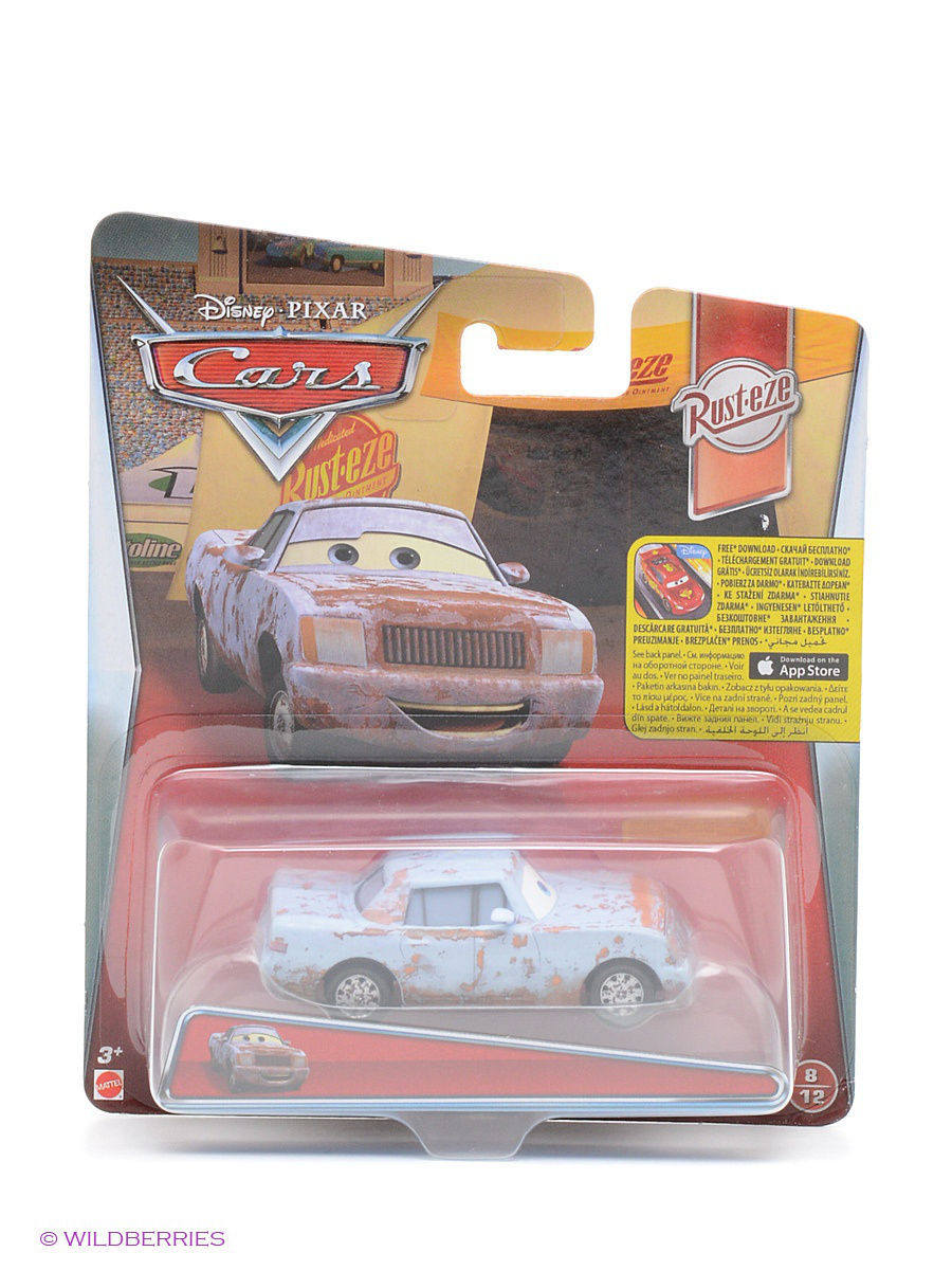 Машинки Cars Машина Тачки 2, Cars kinderline cars crbb rt2 836m