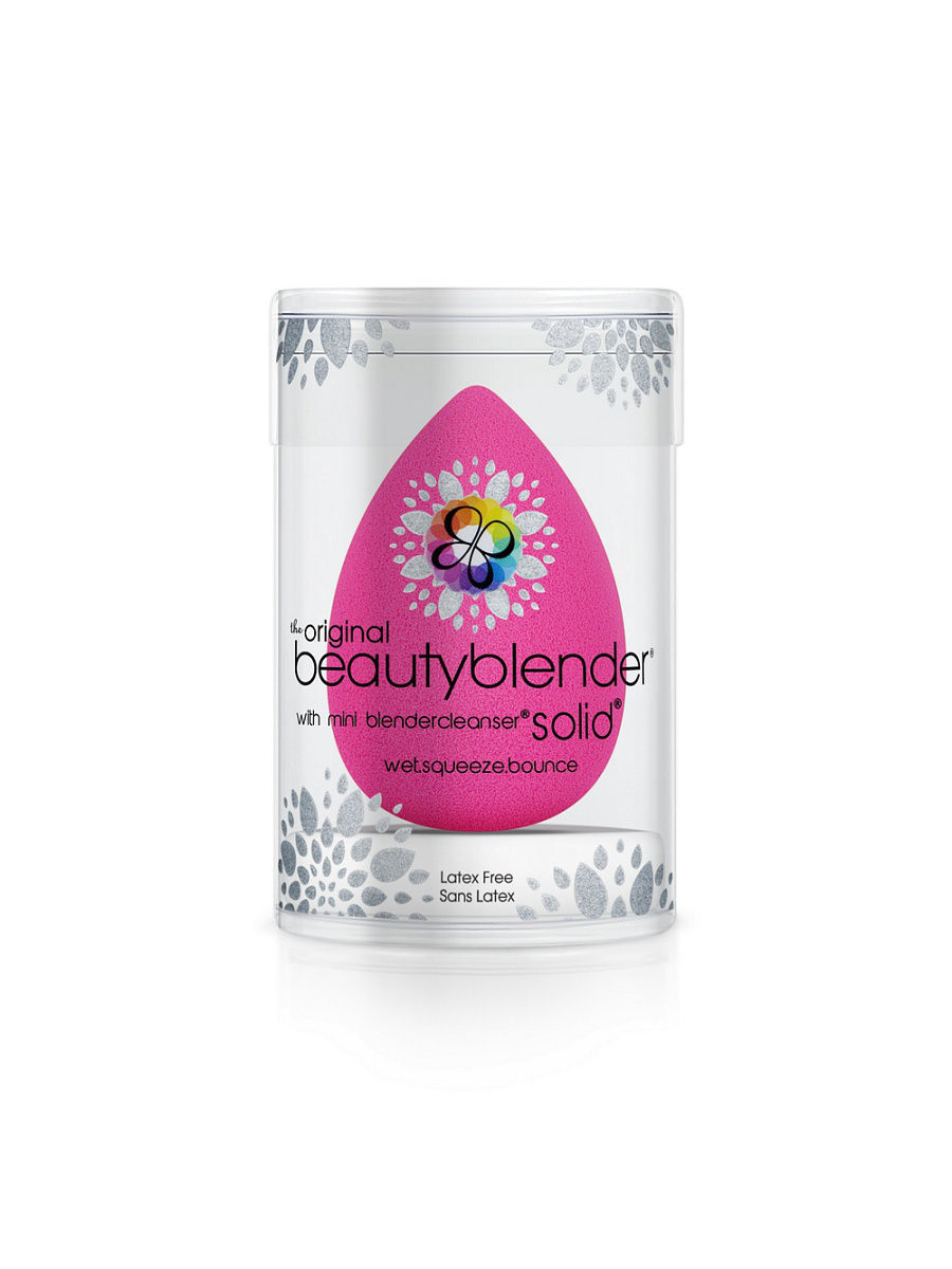 Спонжи Beautyblender Набор beautyblender stocking stuffer спонжи beautyblender спонж beautyblender original и мини мыло для очистки solid blendercleanser