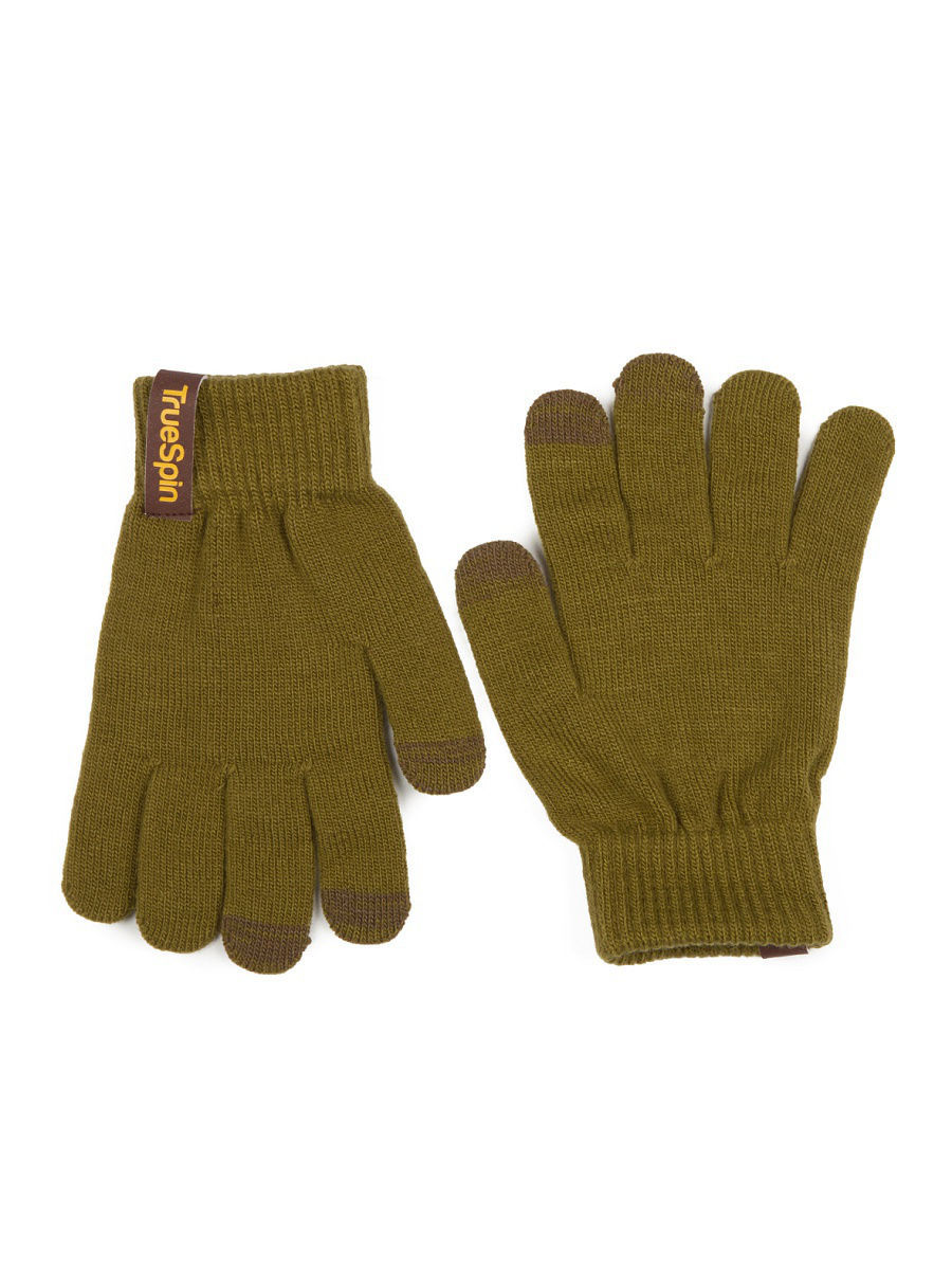 Перчатки TRUESPIN Touch Gloves True Spin TS-GLOV-T16/Olive-Green