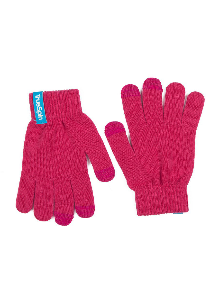 Перчатки TRUESPIN Touch Gloves True Spin TS-GLOV-T16/Pink