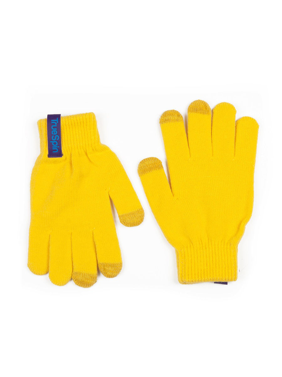 Перчатки TRUESPIN Touch Gloves True Spin TS-GLOV-T16/Yellow